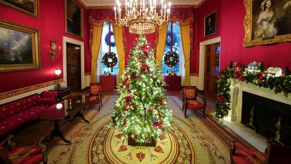 La última Navidad de los Trump en la Casa Blanca    - Sputnik Mundo