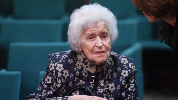 Irina Antónova, presidenta del Museo Estatal de Bellas Artes Pushkin de Moscú - Sputnik Mundo