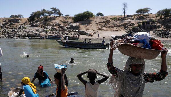 Refugiados en Etiopía - Sputnik Mundo