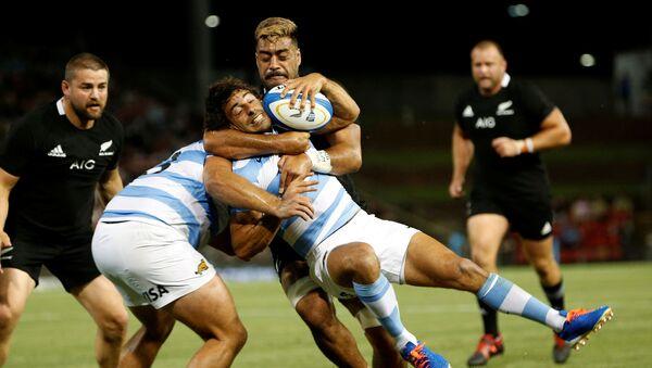 Partido de rugby entre Argentina y Nueva Zelanda - Sputnik Mundo