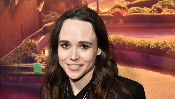 Ellen Page, estrella cinematográfica canadiense  - Sputnik Mundo