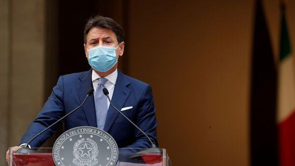 Giuseppe Conte, primer ministro italiano  - Sputnik Mundo