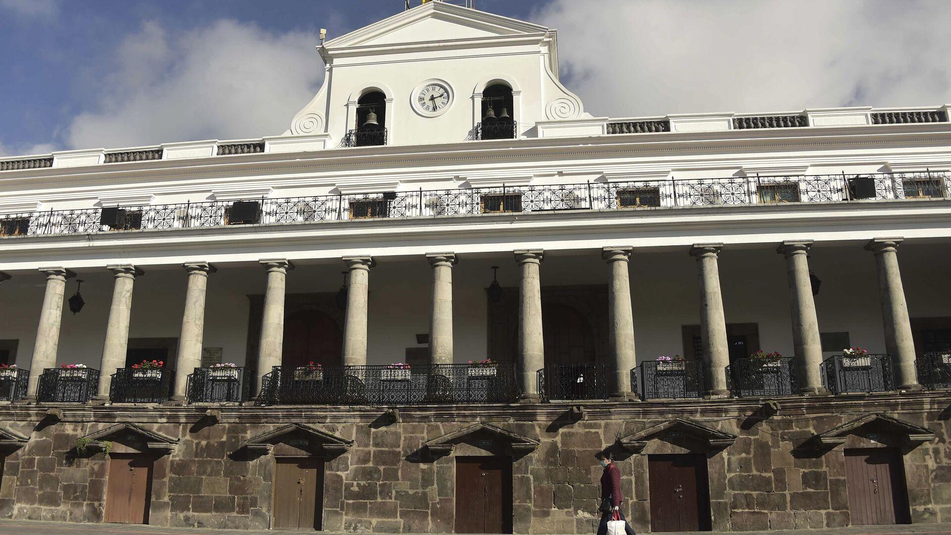 Palacio de Carondelet, sede del Gobierno de Ecuador - Sputnik Mundo, 1920, 09.03.2021