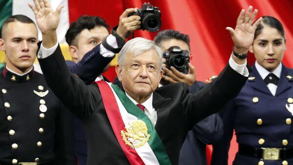 Andrés Manuel López Obrador toma posesión del presidente de la República Mexicana (archivo) - Sputnik Mundo