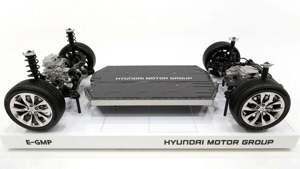 La nueva Plataforma Modular Global Eléctrica (E-GMP) de Hyundai - Sputnik Mundo