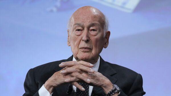 Valéry Giscard d'Estaing, expresidente de Francia - Sputnik Mundo