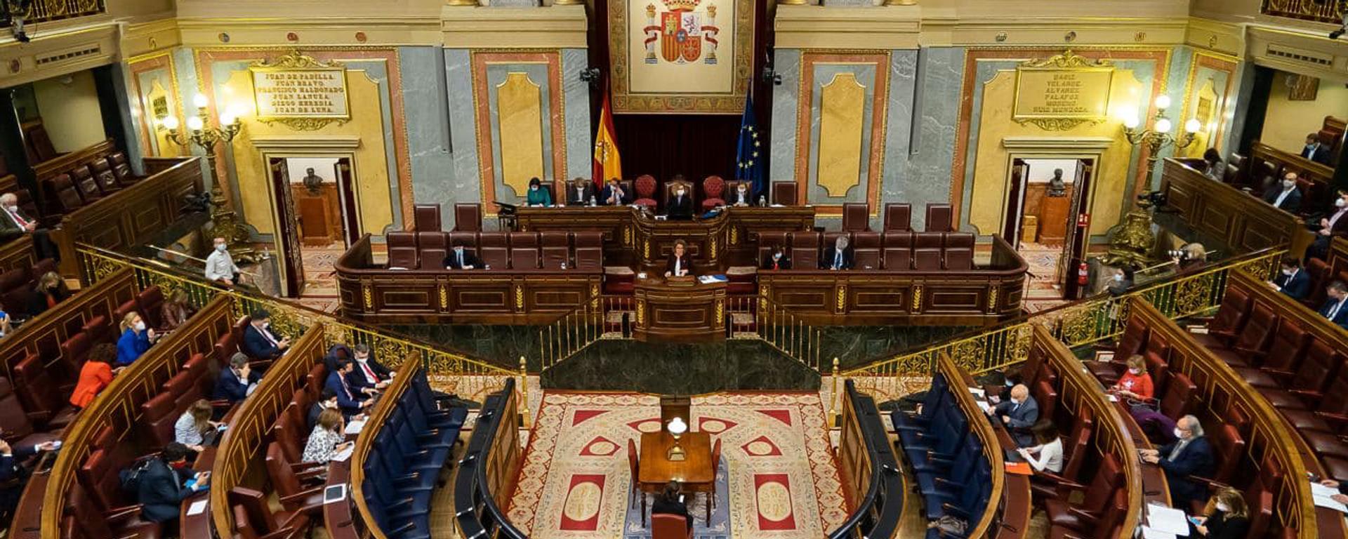 Vista general sobre el Congreso de los Diputados - Sputnik Mundo, 1920, 15.04.2021