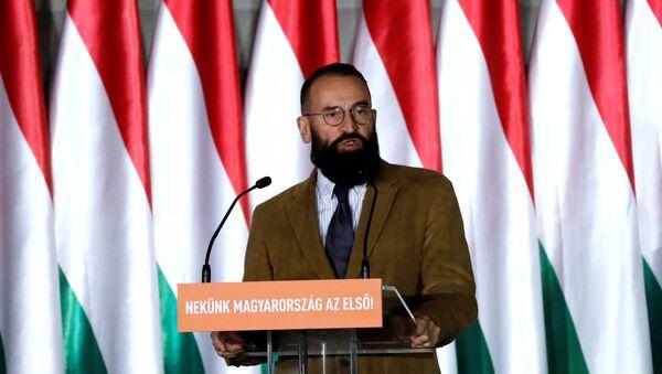 Jozsef Szájer, exeurodiputado húngaro - Sputnik Mundo