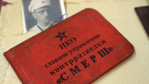 Smersh, el servicio secreto soviético de la Gran Guerra Patria  - Sputnik Mundo