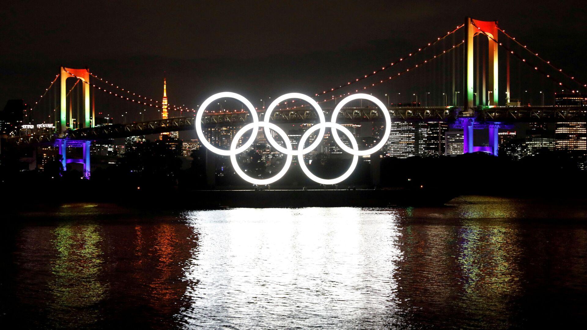 Logo de Juegos Olímpicos (JJOO) en Tokio, Japón - Sputnik Mundo, 1920, 03.03.2021