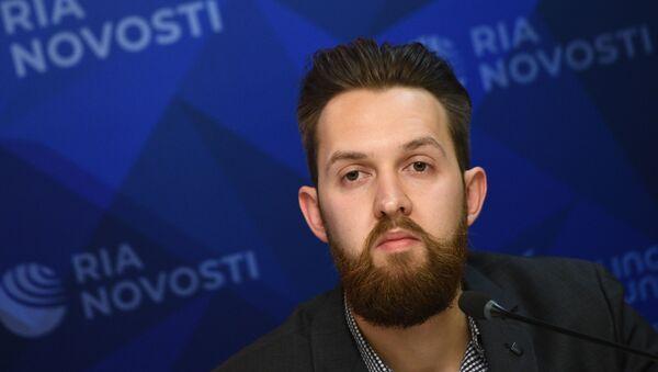 Andréi Starikov, jefe de la agencia de noticias Baltnews - Sputnik Mundo