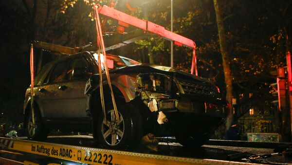 Coche que atropelló a peatones en la ciudad alemana de Tréveris - Sputnik Mundo