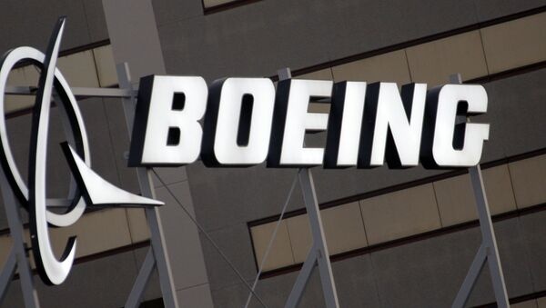 El logo de Boeing - Sputnik Mundo