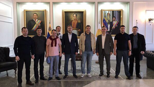 La delegación rusa en misión de veeduría de las elecciones en Venezuela - Sputnik Mundo