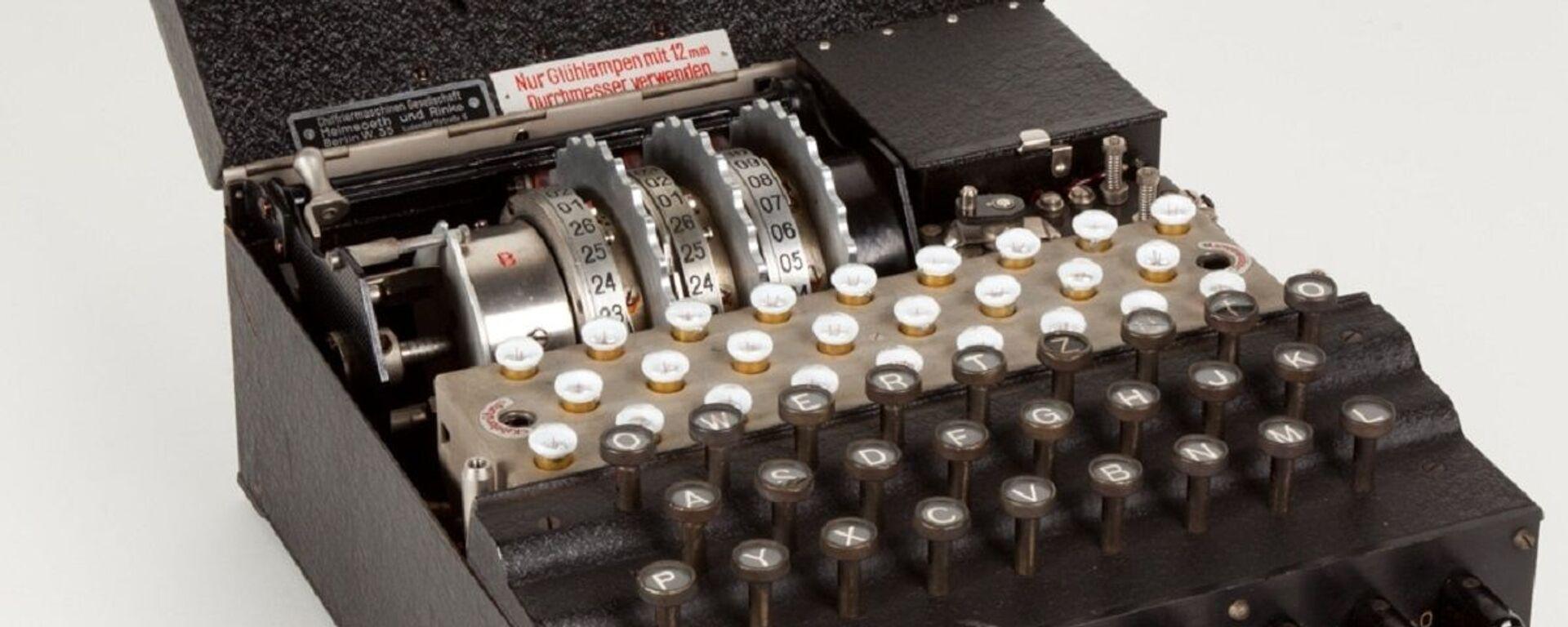 La máquina Enigma  - Sputnik Mundo, 1920, 05.12.2020