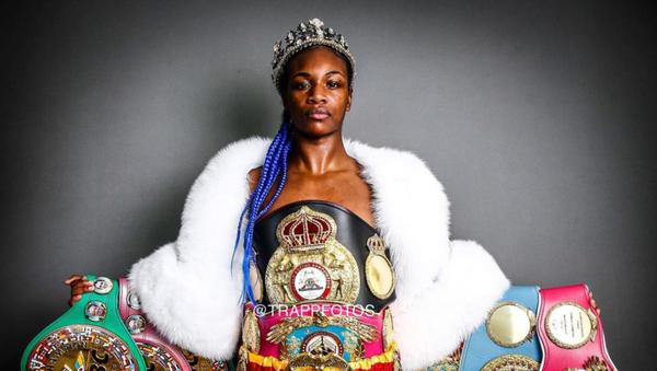 Claressa Shields, boxeadora estadounidense - Sputnik Mundo