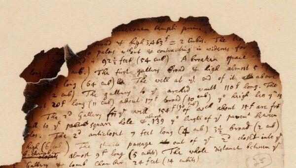 Un manuscrito de Isaac Newton subastado en la casa Sotheby 's - Sputnik Mundo