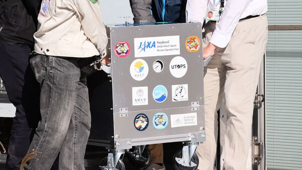 Llegada a Japón de la cápsula recuperable de la sonda espacial Hayabusa - Sputnik Mundo