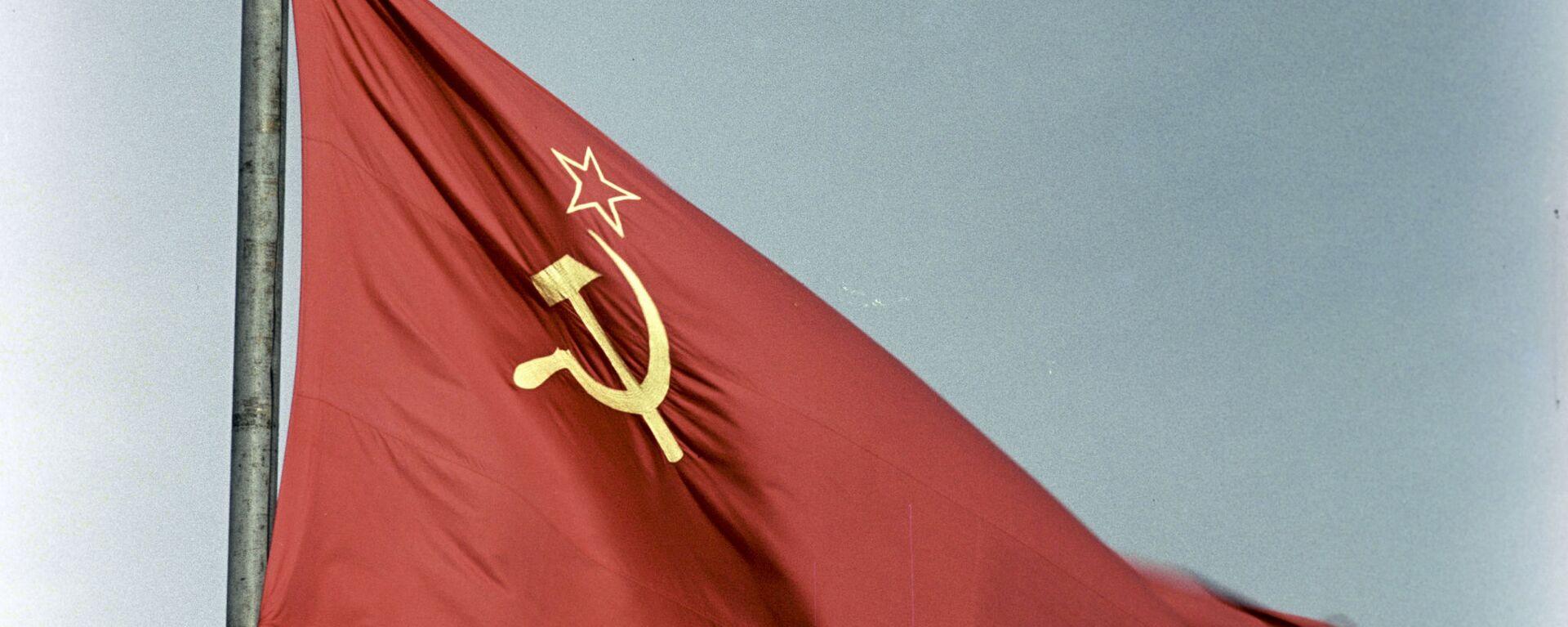 La bandera de la URSS - Sputnik Mundo, 1920, 08.12.2020