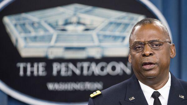 Lloyd Austin ex jefe del Comando Central de EEUU - Sputnik Mundo