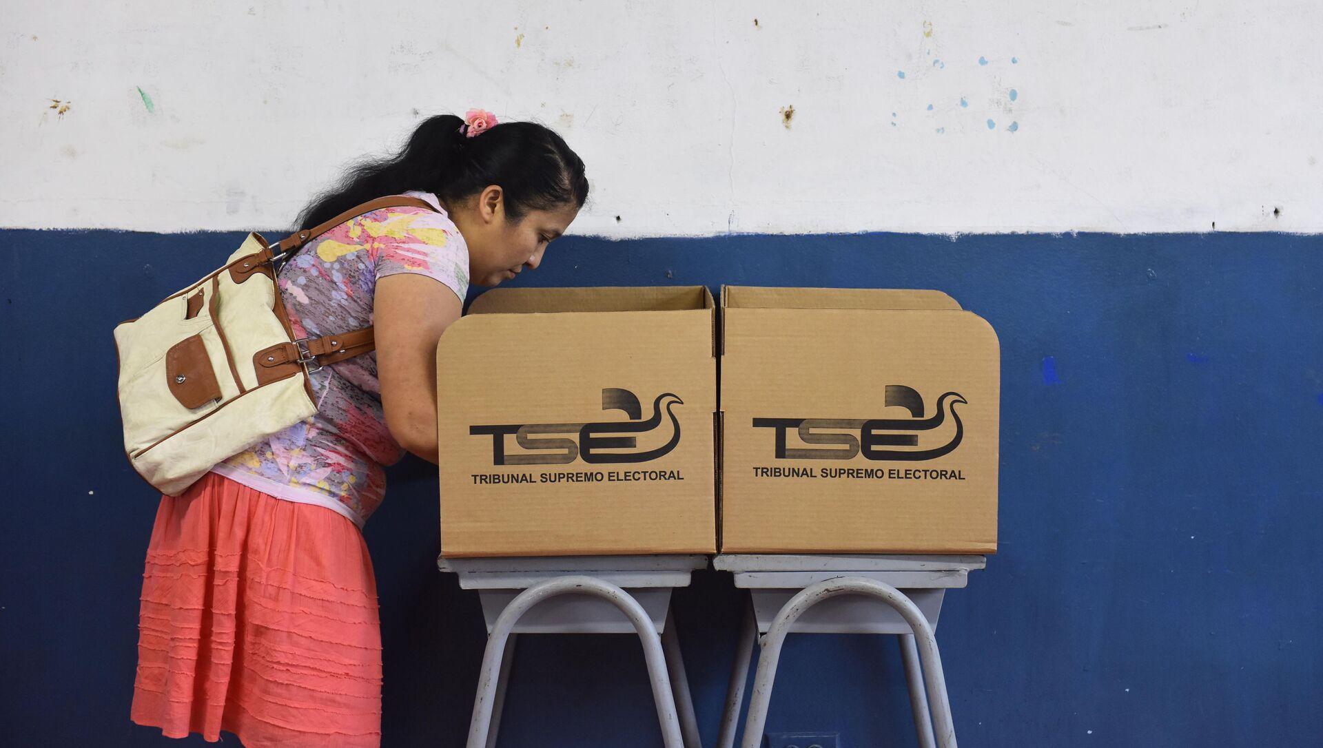Elecciones presidenciale sen El Salvador - Sputnik Mundo, 1920, 28.12.2020