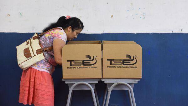 Elecciones presidenciale sen El Salvador - Sputnik Mundo
