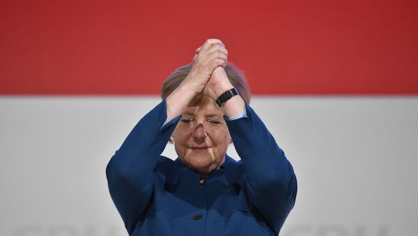 Канцлер Германии Ангела Меркель  - Sputnik Mundo