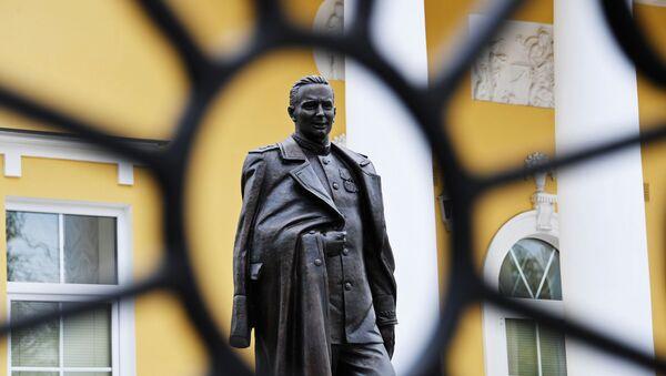 El monumento a Pavel Fitin,  jefe de el Servicio de Inteligencia Exterior de Rusia durante la Gran Guerra Patria - Sputnik Mundo