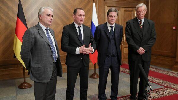 Los diputados del partido Alternativa para Alemania en Moscú - Sputnik Mundo
