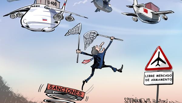 La política de sanciones de EEUU anda tras las armas de Rusia y China - Sputnik Mundo