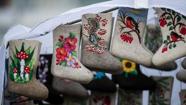 Válenki, las botas de fieltro tradicionales de Rusia - Sputnik Mundo