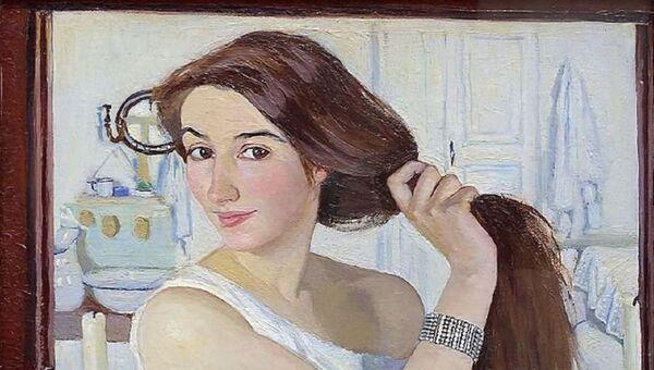 El famoso cuadro de Zinaída Serebriakova 'Autorretrato: En el tocador', 1909 - Sputnik Mundo