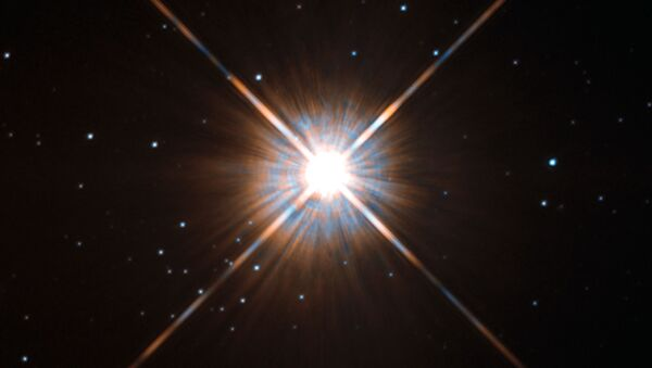 La estrella Próxima Centauri - Sputnik Mundo