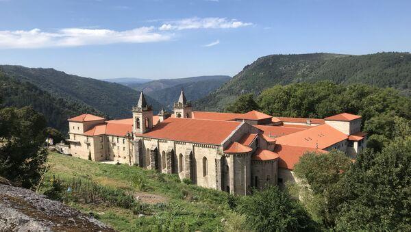 Monasterio de Santo Estevo de Ribas de Sil - Sputnik Mundo