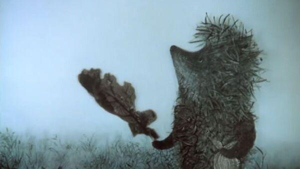 'Erizo en la niebla' - Sputnik Mundo