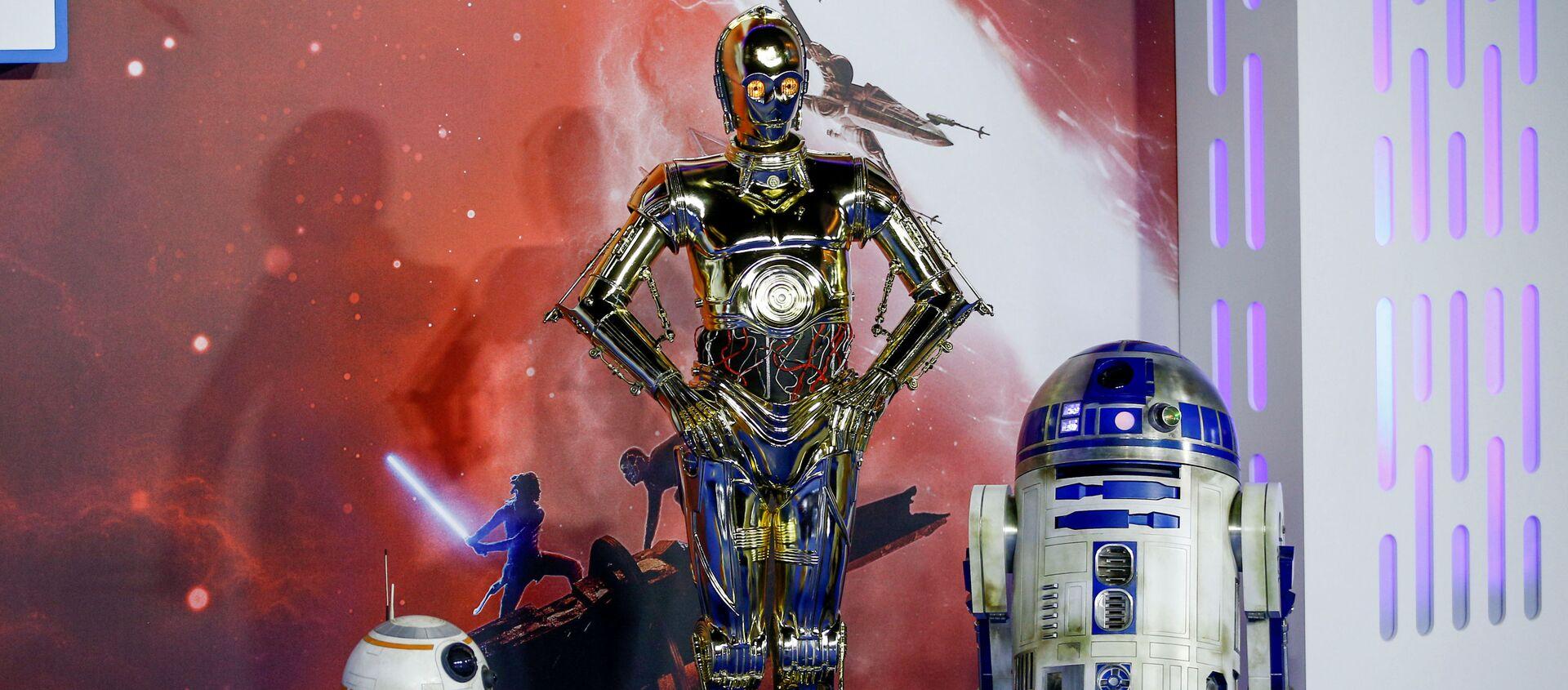 Los droides de 'Star Wars' saga D-O, R2D2 y C3PO - Sputnik Mundo, 1920, 11.12.2020