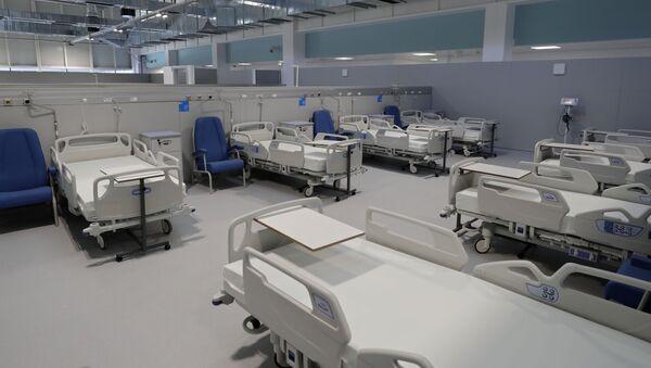 Hospital Isabel Zendal en Madrid - Sputnik Mundo