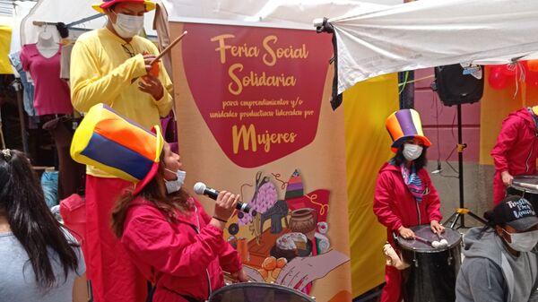 Feria Social Solidaria para emprendimientos y unidades productivas lideradas por Mujeres, en El Alto - Sputnik Mundo