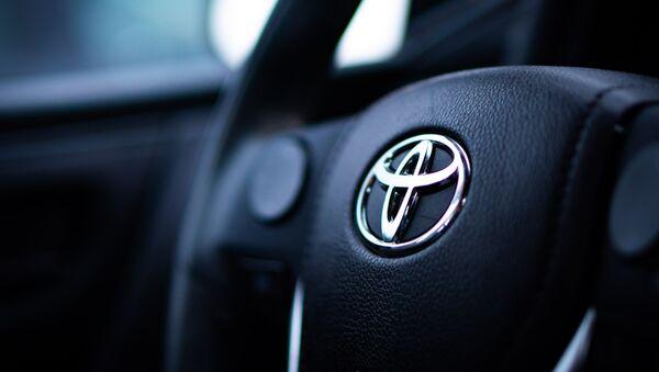 El logo de Toyota - Sputnik Mundo