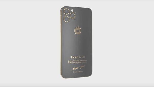 iPhone 12 Pro de la compañía Caviar - Sputnik Mundo