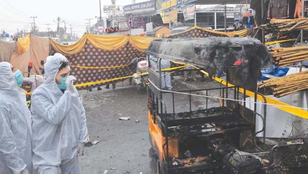 La explosión en Rawalpindi, Pakistán - Sputnik Mundo