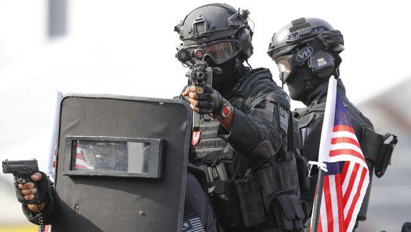 Unidad de Acción Especial de la fuerza policial de Malasia - Sputnik Mundo