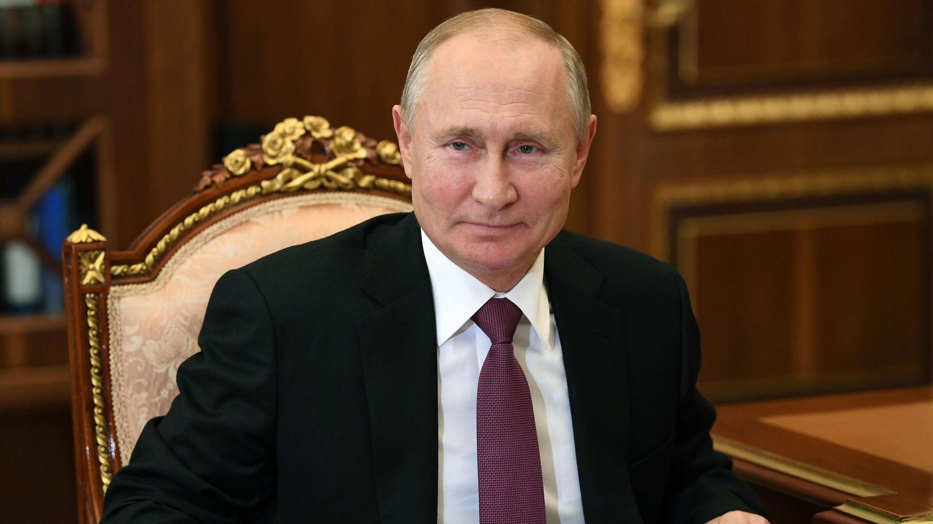 Vladímir Putin, el presidente de Rusia - Sputnik Mundo, 1920, 18.03.2021