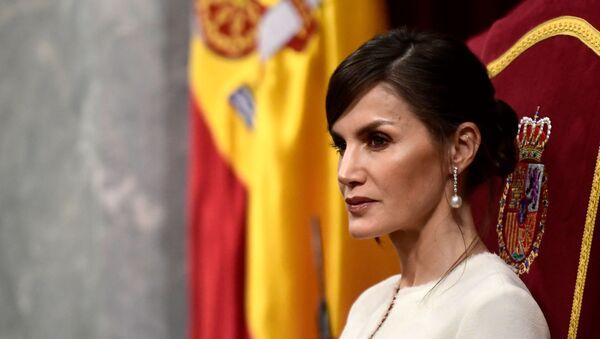 Letizia Ortiz, reina de España - Sputnik Mundo