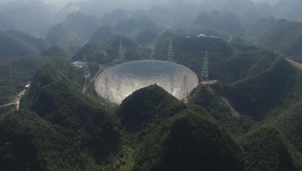 Así es el FAST, el telescopio esférico más grande del mundo tras el colapso en Arecibo - Sputnik Mundo