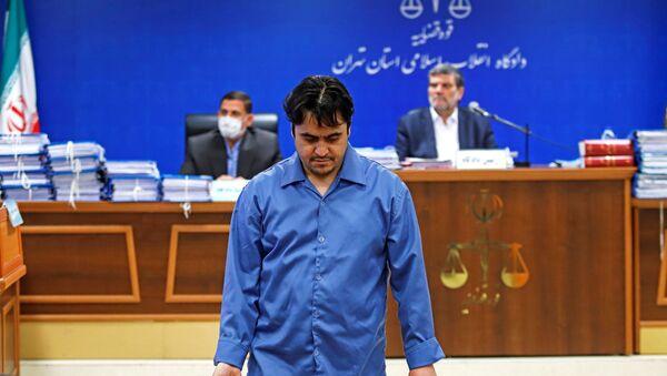 Ruhollah Zam, periodista iraní - Sputnik Mundo