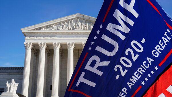 Protestas en EEUU tras las elecciones presidenciales - Sputnik Mundo
