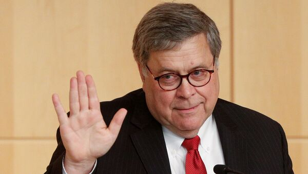 William Barr, fiscal general de EEUU - Sputnik Mundo