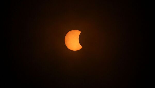 Eclipse solar en Chile - Sputnik Mundo
