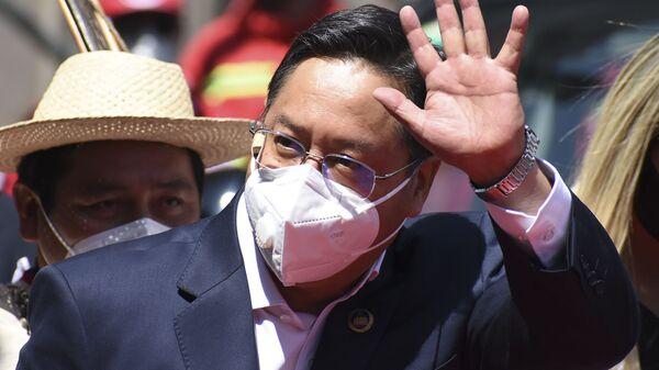 Luis Arce, presidente de Bolivia - Sputnik Mundo